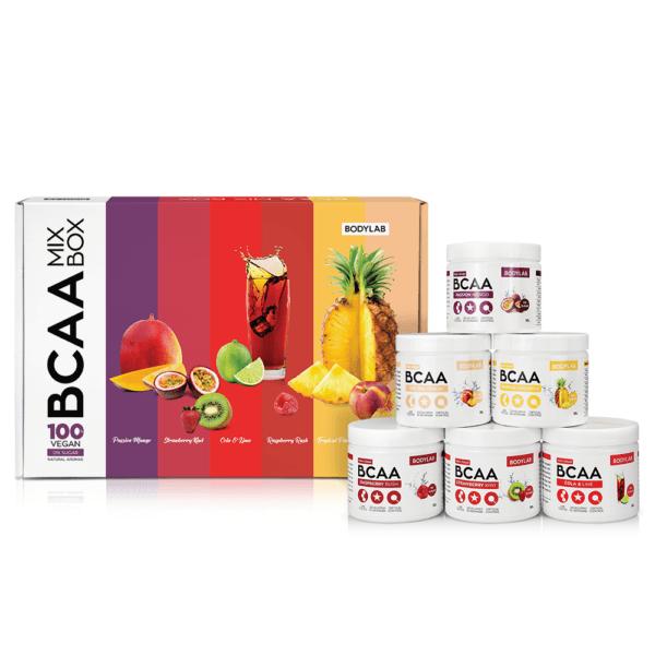 BodyLab BCAA Mix Box (6 x 50g)