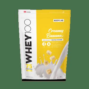 BodyLab Whey 100 Proteinpulver Creamy Banan (1kg)
