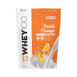 BodyLab Whey 100 Proteinpulver Peach/Orange (1kg)