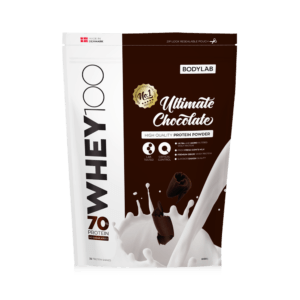 BodyLab Whey 100 Proteinpulver Ultimate Chokolade (1kg)