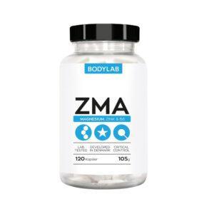 BodyLab ZMA Zink - Magnesium & B6 Vitamin (120 stk)