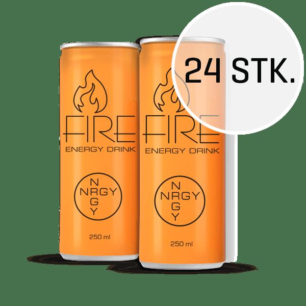 Fire Energy Drink 250 ml (24 stk.)