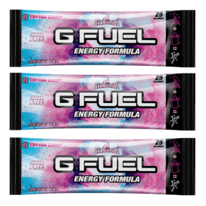 G-FUEL - COTTON CANDY 3 PACK