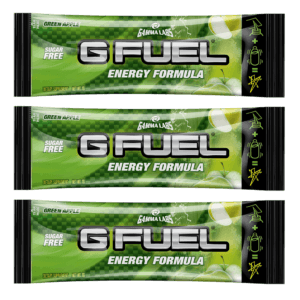 G-FUEL - GREEN APPLE 3 PACK