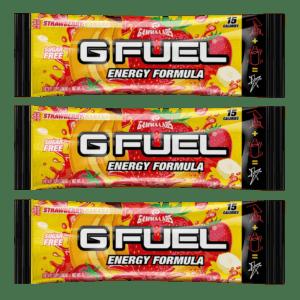 G-FUEL - KSI Strawberry banana 3 PACK