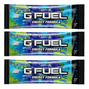 G-FUEL - SOUR BLUE CHUG RUG 3 PACK