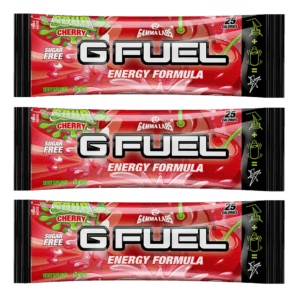G-FUEL - SOUR CHERRY 3 PACK