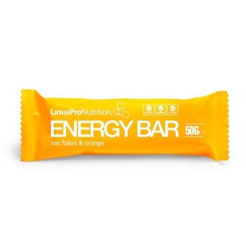 LinusPro Energy Bar Appelsin (1 x 50g)