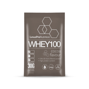 LinusPro WHEY100 brev (Chokolade, 30 g)