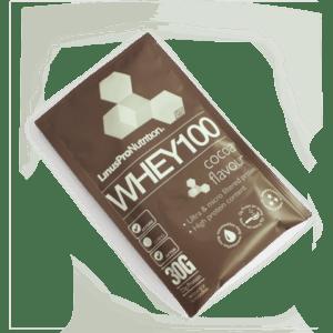 LinusPro Whey 100 Proteinpulver Chokolade Brev (30g)