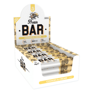 Näno Supps Ä Protein Bar Cookies & Cream 12x58g