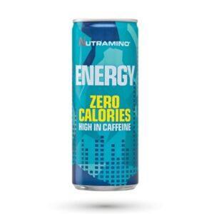 Nutramino Energy Drink 0 Calories - Workout - 250ml - 24 stk