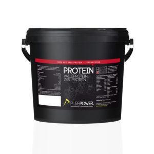 PurePower Proteinpulver -Valleproteindrik - Jordbær 3 kg