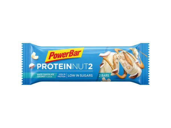 Powerbar Protein Nut 2 - Hvid Chokolade Kokos - 45g
