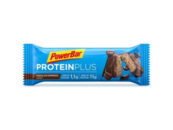 Powerbar Protein plus - Chokolade Espresso - Low sugar - 35 gram