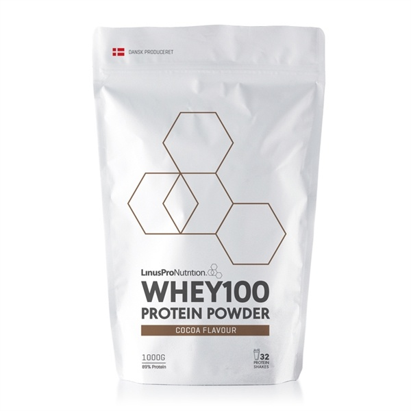 Linuspro PURE WHEY100 Proteinpulver Chokolade 1000g