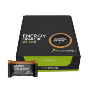 Energy Snack Karamel & Peanut 24 stk - Abonnement