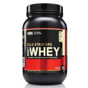 Optimum Nutrition Gold Standard Whey Vanilla Ice Cream (900 Gram)