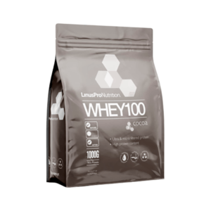 LinusPro Nutrition WHEY100 Proteinpulver Chocolate 1000g