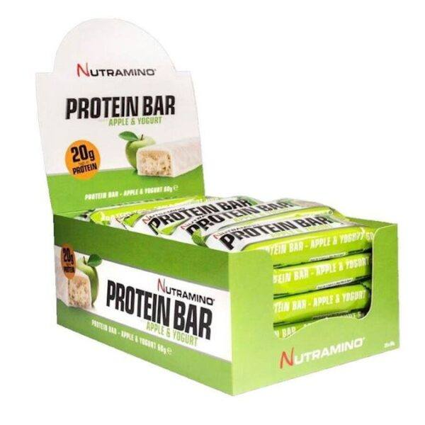 Nutramino Soft Apple Yoghurt Bar (25 x 60 gram)
