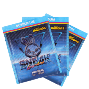 Sneak - Bubblegum millions 3 pack