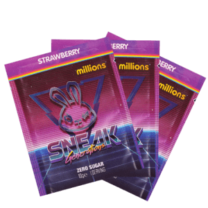 Sneak - Strawberry millions 3 pack