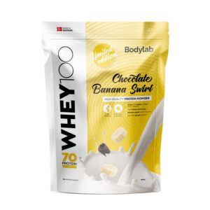 BodyLab Whey 100 Proteinpulver Chocolate Banana Swirl (1kg)