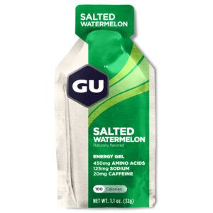 GU Energy Gel - Salted Watermelon - 20 mg koffein - 32 gram