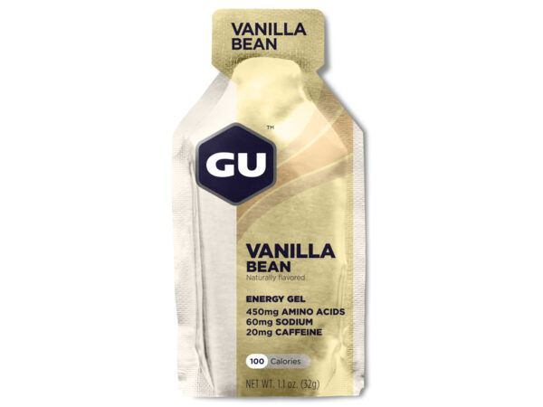 GU Energy Gel - Vanilla Bean - 20 mg koffein - 32 gram