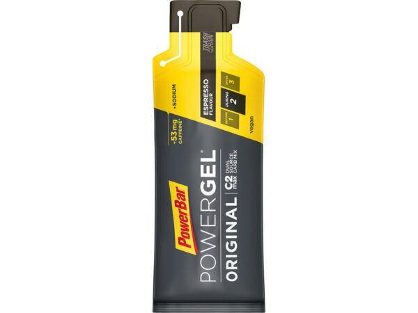 Powerbar Powergel - Espresso - Med koffein - 41 g