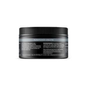 PurePower Kreatin - Vegansk - 180 gram