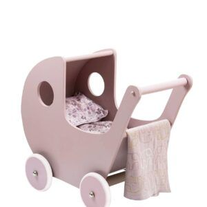 Smallstuff - Træ Dukkevogn - Powder