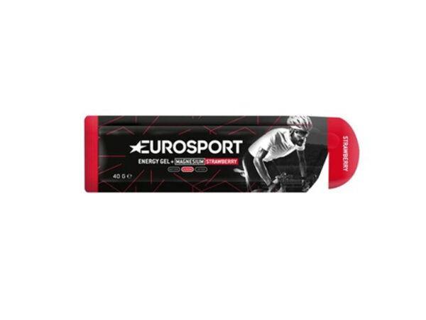 Eurosport Nutrition - Jordbær - Energy Gel - Med magnesium - 40 g