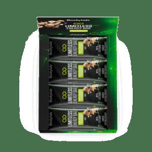 Bodylab Limitless Energy Bar Dark Chocolate and Hazelnut 12x50g