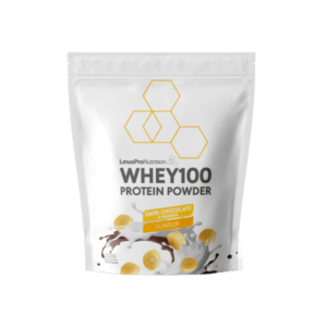 LinusPro Whey100 Proteinpulver Dark Chocolate and Banana 500g