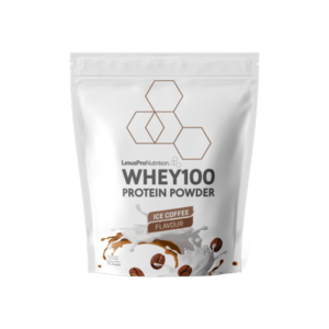 LinusPro Whey100 Proteinpulver Ice Coffee 500g