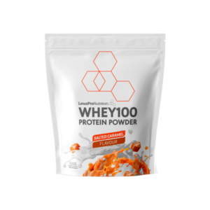 LinusPro Whey100 Proteinpulver Salted Caramel 500g