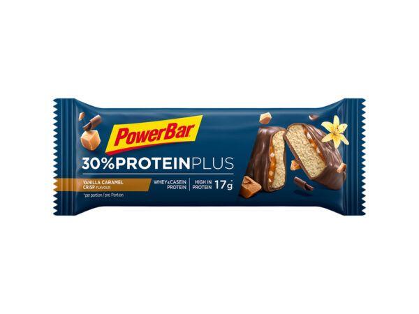 Powerbar 30% Proteinplus - Karamel/Vanilje 55 gram