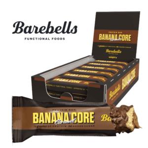 Barebells Core Protein Bar - Banana Caramel (18x 35g) - OBS! BEDST FØR 19/05-2021