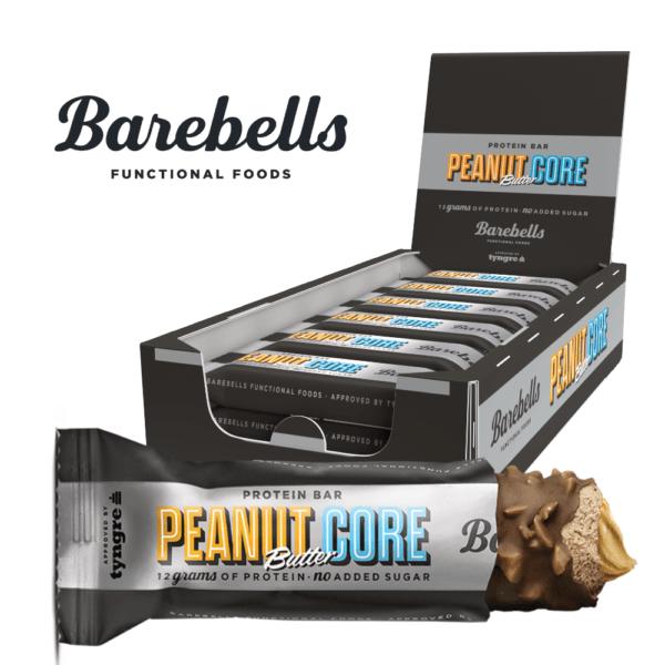 Barebells Core Protein Bar - Peanut Butter Core (18x 35g)
