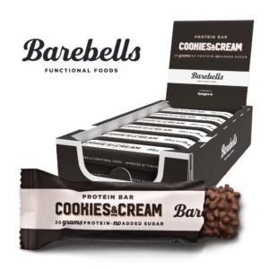 Barebells Protein Bar Cookies & Cream (12x 55g)