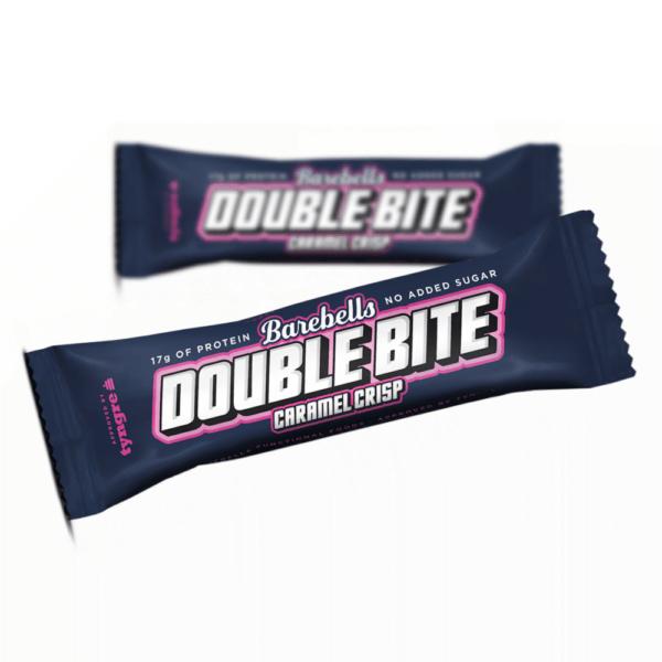 Barebells Protein Bar Double Bite Caramel Crisp (55g)