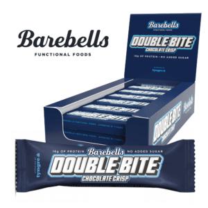 Barebells Protein Bar Double Bite Chocolate Crisp (12x 55g)