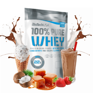 BioTechUSA 100% Pure Whey - Proteinpulver (1 kg)