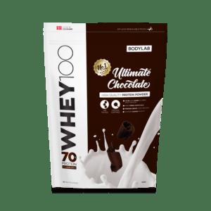 BodyLab Whey 100 Proteinpulver Ultimate Chokolade (1kg)