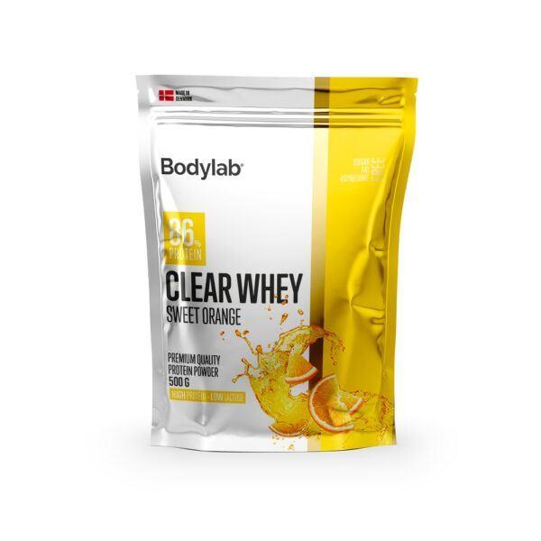 Bodylab Clear Whey 500g-Sweet Orange (NYHED)