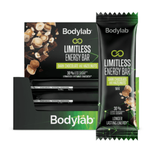 Bodylab Limitless Bar - Dark Chocolate & Hazelnuts (12x50g)