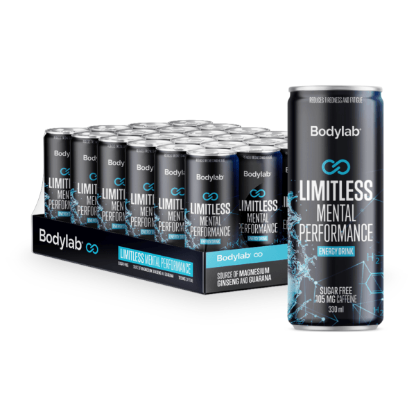 Bodylab Limitless Mental Performance - Energy Drink (24x330ml)