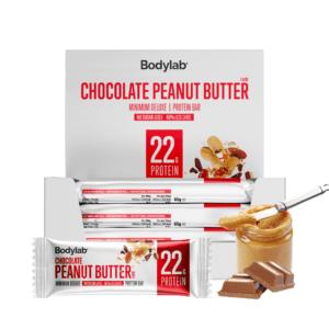 Bodylab Minimum Deluxe Protein Bar - Chocolate Peanut Butter (12x65g)
