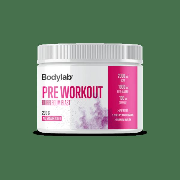 Bodylab Pre Workout (200 g) - Bubblegum Blast